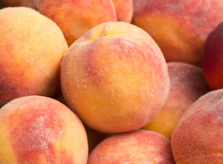 ripe: Tasty ripe peaches