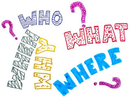 interrogativa: Cinco preguntas