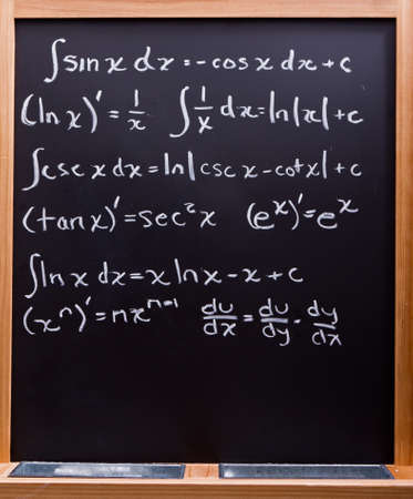 Math formulas photo