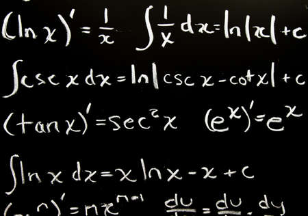 Abstract math background Stock Photo - 10658192