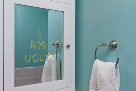 self esteem: Negative body image