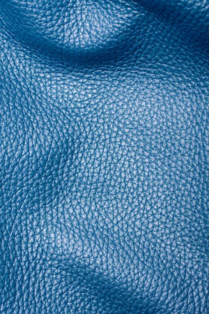 leather texture: Blue leather texture Stock Photo