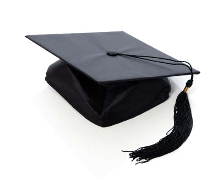 graduate hat: Graduation hat  board Stock Photo