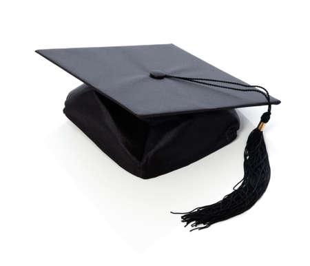 tassels: Graduation hat  board Stock Photo