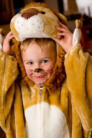 kids costume: Halloween costume Stock Photo