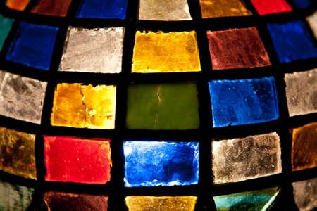Tiffany lamp background photo