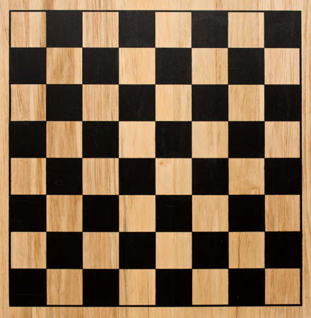 board: Wood chessboard Stock Photo