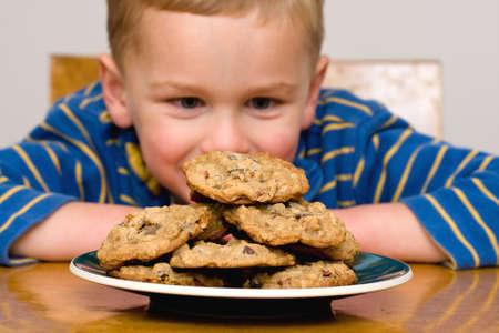 chocolate chip cookie: Willpower