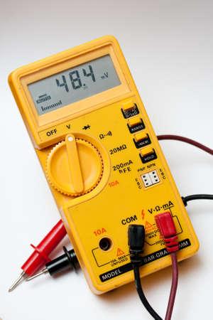 Electric multi meter 版權商用圖片