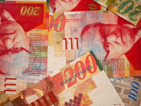 israeli: Israeli shekels