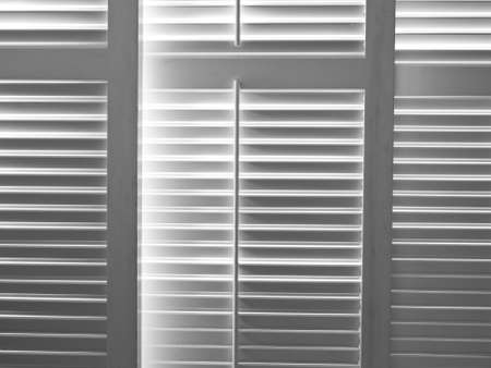 wood blinds: Shutters