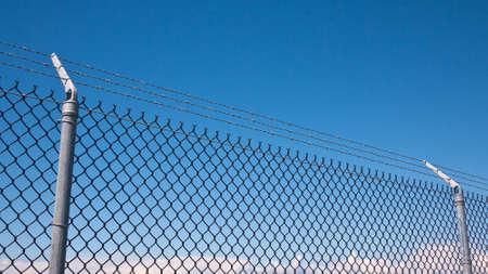 esgrima: Cadena de valla