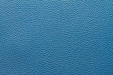Blue leather photo