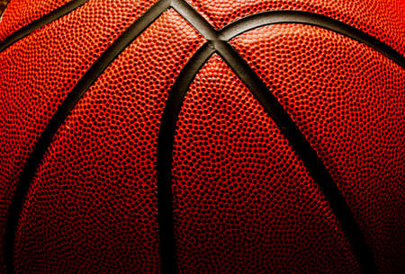 equipment: Basketball closeup
