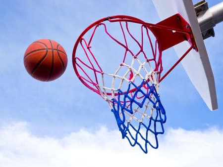 Basketball free throw photo