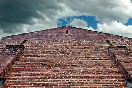 Brick building Reklamní fotografie