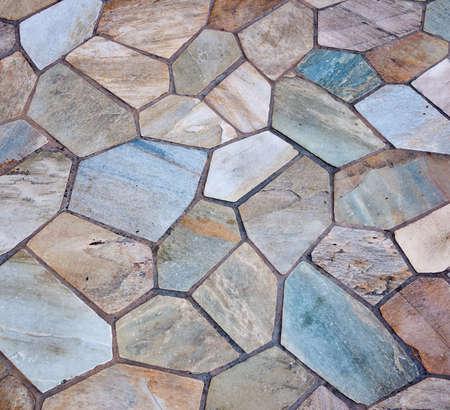 interlocking: Stone patio
