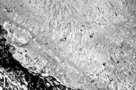 Ice texture photo