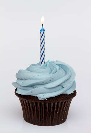 birthday cupcakes: First birthday cupcake