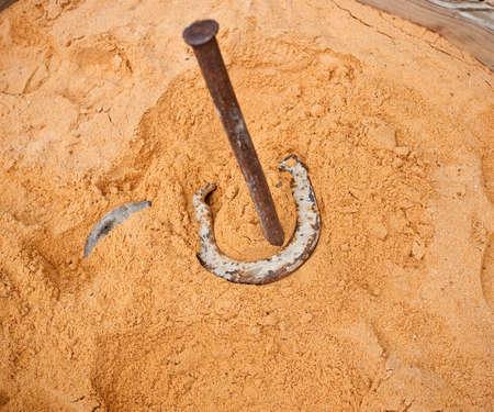 Horsehoe pit
