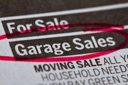 Garage sale Stock Photo - 11672689