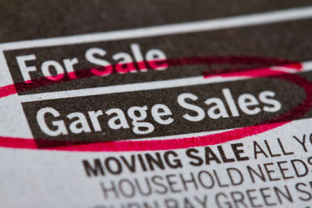 garage: Garage sale