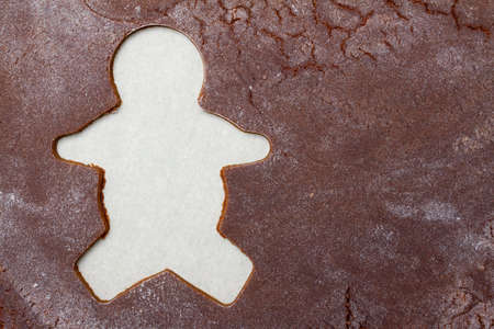 gingerbread: Gingerbread background Stock Photo