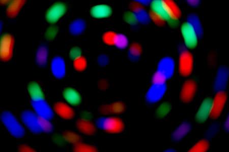 Spinning lights Banco de Imagens