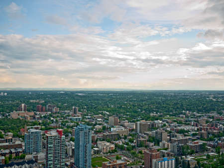 Calgary residential area photo