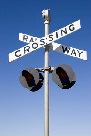 Railway crossing Stock Photo - 12161818
