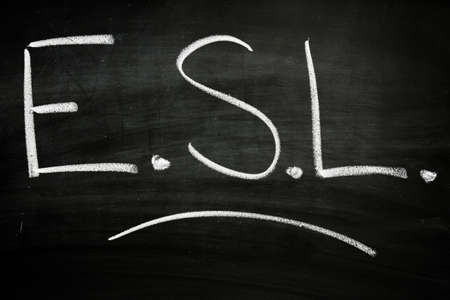 ESL Classroom Stockfoto - 12161915