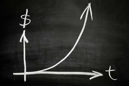 Exponentiële groei Stockfoto - 12161910
