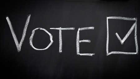 vote: Vote in election