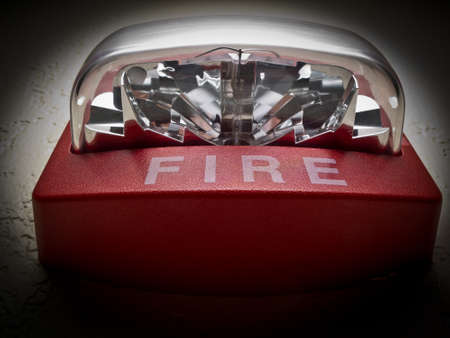Allarme incendio Archivio Fotografico - 12161956