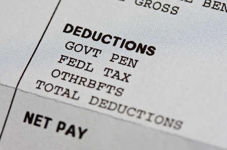 Potrącenia wynagrodzeń