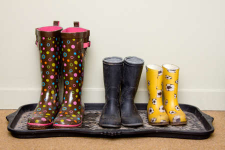 rainy day: Rubber boots