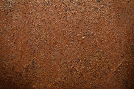 oxidized: Metal rust texture