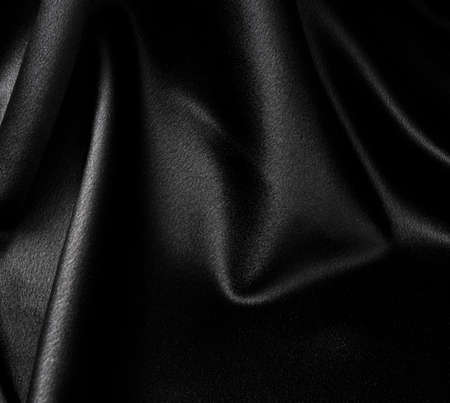 black silk: Black satin background