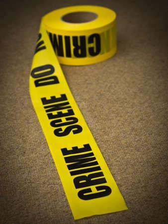 crime: Crime scene police tape