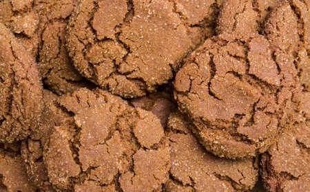 galletas de jengibre: Galletas de jengibre fondo Foto de archivo