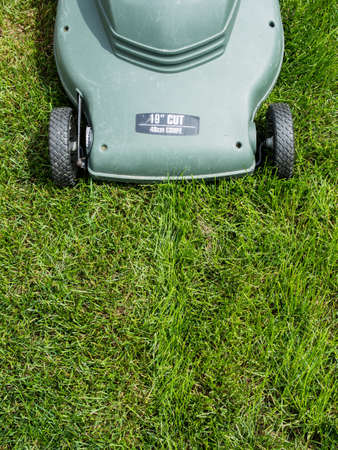 Lawn mower background photo