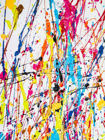 Paint splatter photo