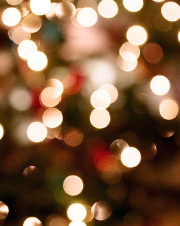 red christmas lights: Abstract Christmas lights