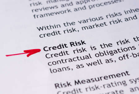 credit risk: Credit risk