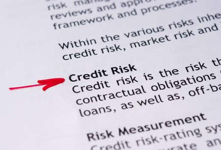 borrowing: Credit risk