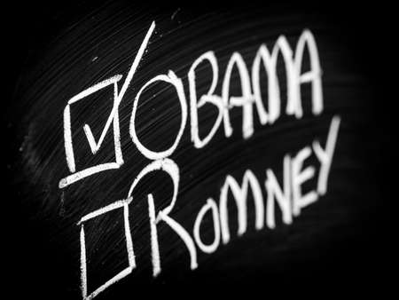 Obama and Romney choice