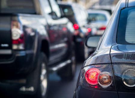 Traffic jam Stockfoto
