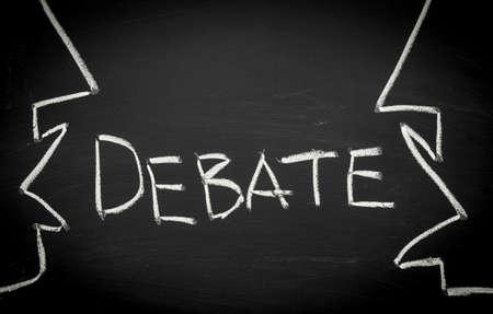 Debate concept