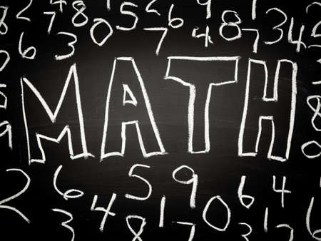 Mathematics or math background Stock Photo - 16065699