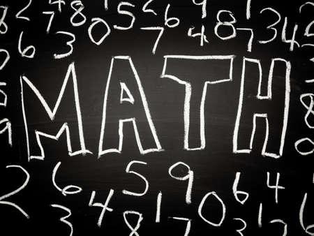 Mathematics or math background Stock Photo - 16065699